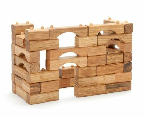 hardwood building blocks