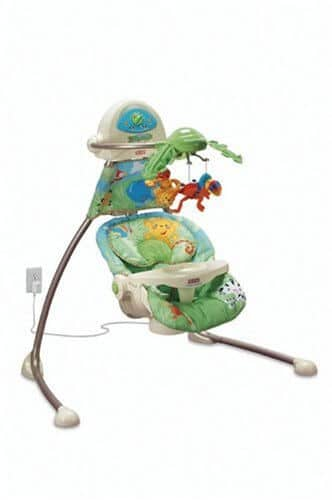 Fisher Price Rainforest Cradle 'n Swing