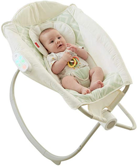 Fisher-Price Deluxe Auto Rock n Play Sleeper with SmartConnect