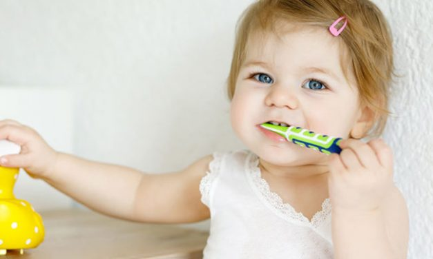 Are you freaking out about brushing teeth for your kids?